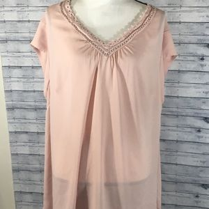 DR2 Pink Blouse 3X